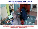 SEGERA WA +62 812-9627-2689, Tempat PKL SMK Jurusan TKJ, RPL dan MM di Depok