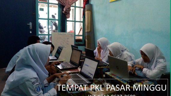 Tempat PKL SMK di Pasar Minggu