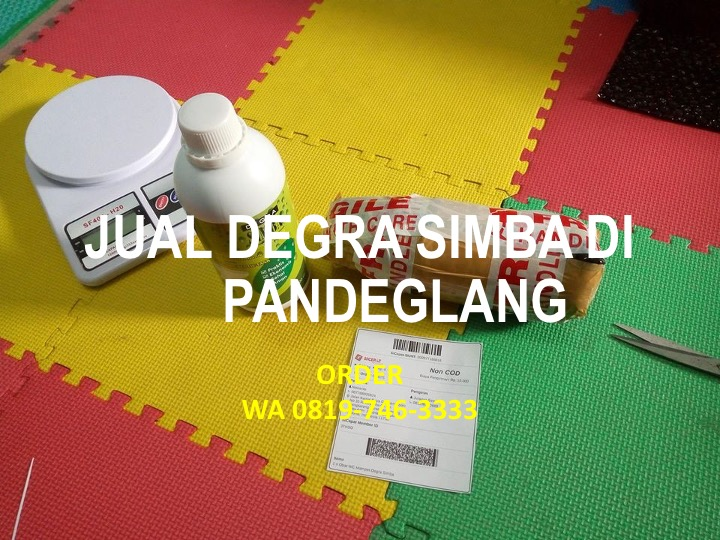 Jual, Degra Simba, Kabupaten Pandeglang